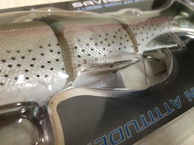 SAVAGE GEAR 3D Line Thru Troutの12インチも購入