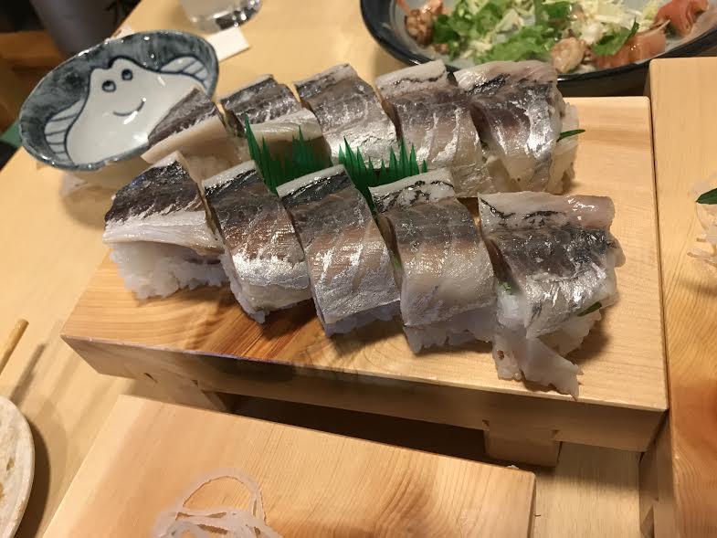 また鯖寿司