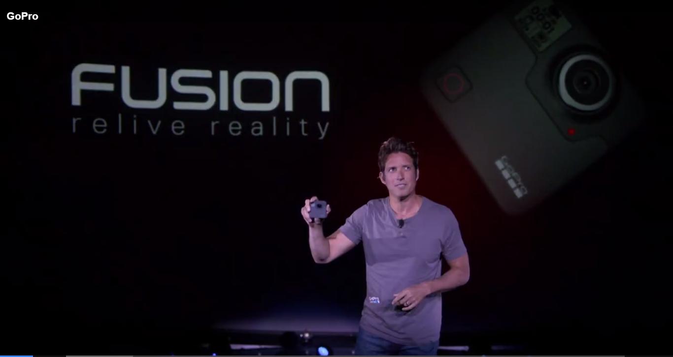 GoPro Fusionが正式発表された