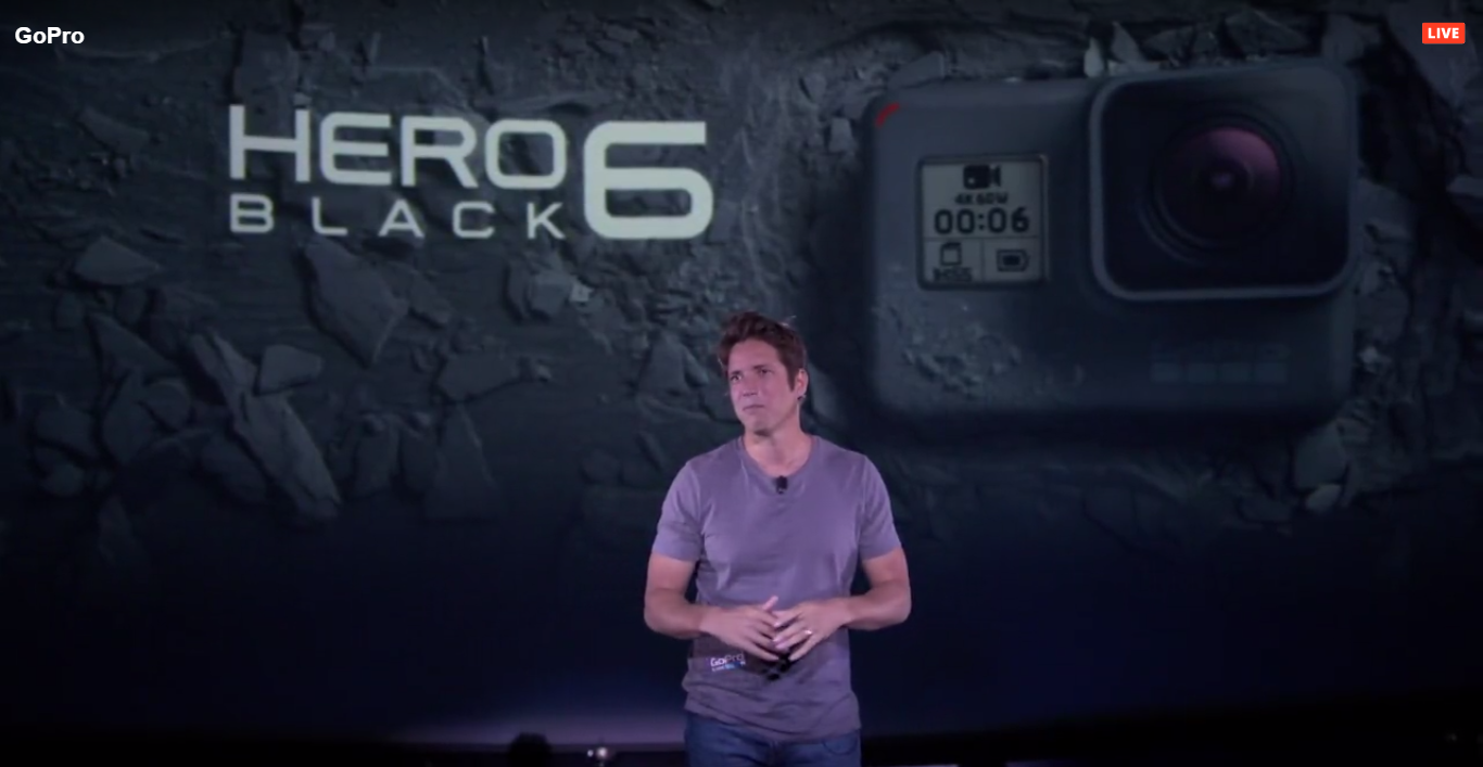 GoPro HERO6 Black発表