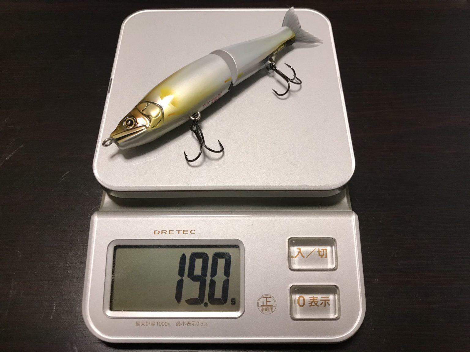 ジョイクロ128の重さ
