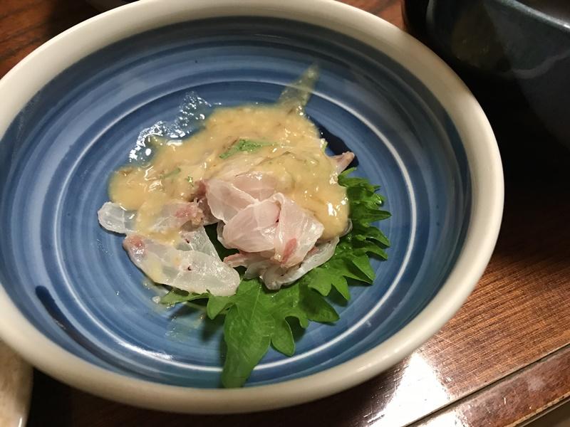 太刀魚の酢味噌和え