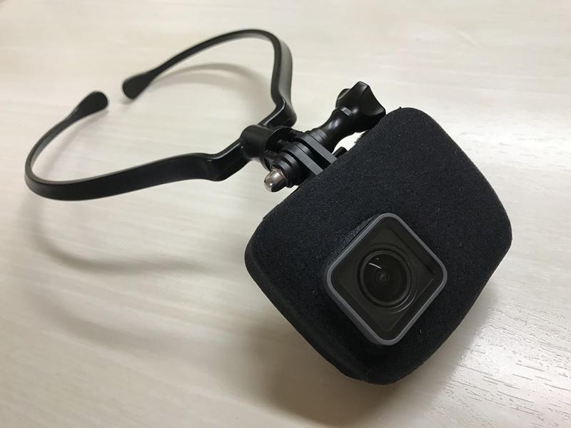GoPro HERO6 Blackにウインドスレイヤーを装着してみた