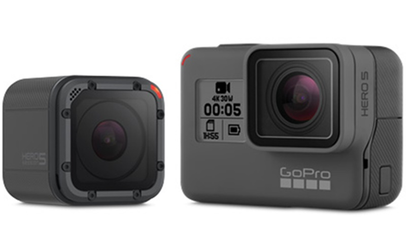 GoPro HERO5 BlackとHERO5 Sessionが値下げ