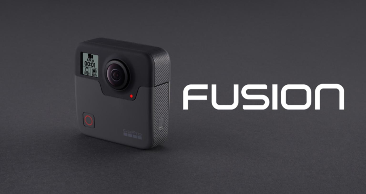 GoPro Fusionが日本でも発売開始
