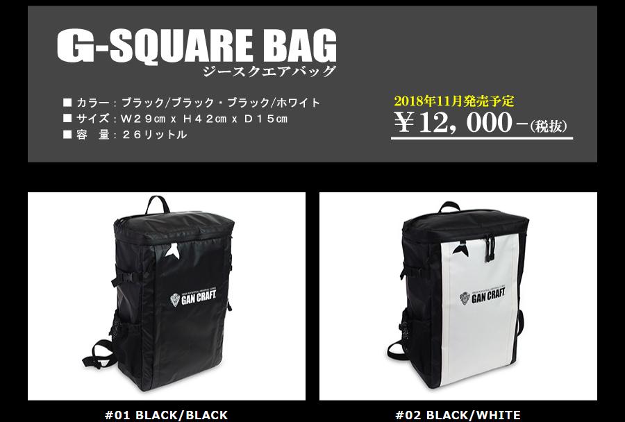 G-SQUARE BAG(ジースクエアバッグ) 1