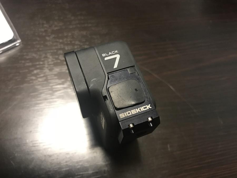 BACK-BONE(バックボーン)のSIDEKICK(サイドキック)にゴム製のキャップ取り付け