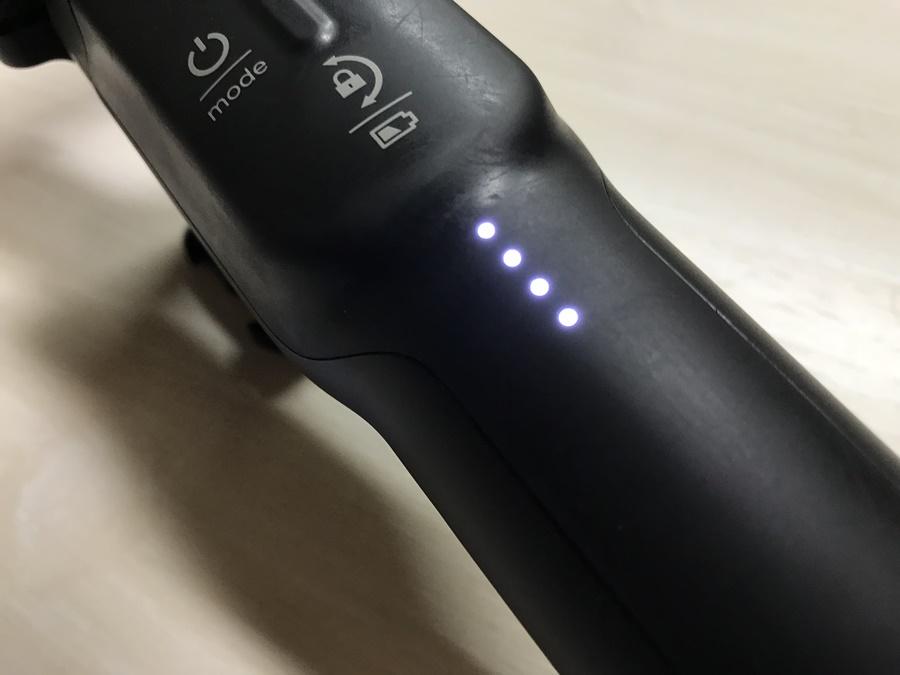 Karma Gripのバッテリーインジケーター