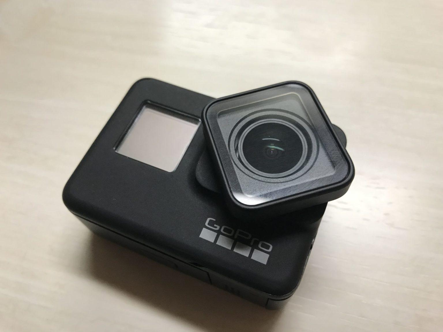 GoPro HERO7 Blackのレンズカバー