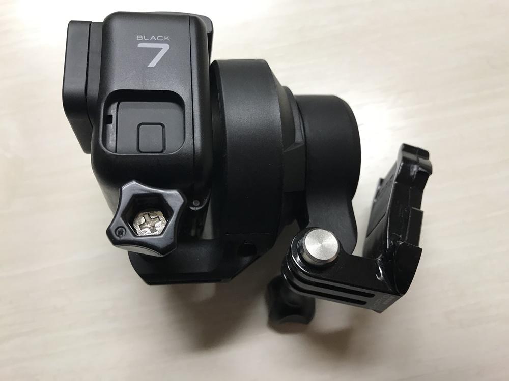 GoPro HERO7 BlackのHyperSmoothでは1軸ジンバルが必要