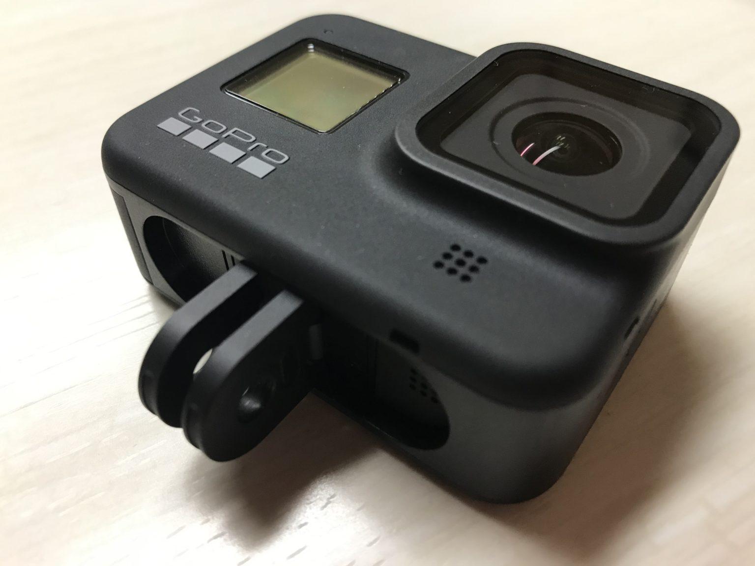 GoPro HERO8 Blackのビルトインマウント