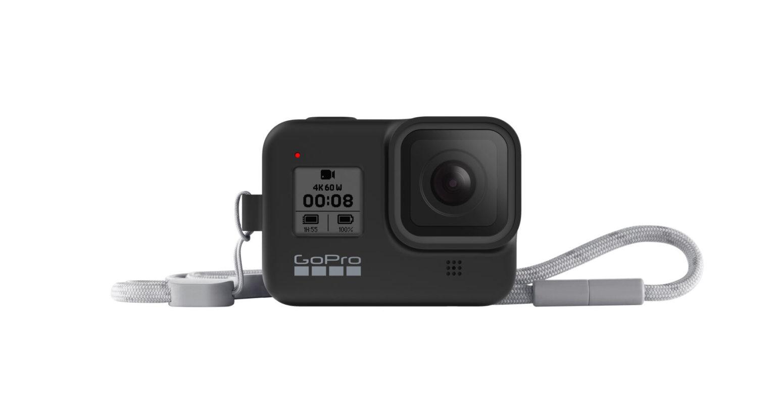 GoPro HERO8 Black専用スリーブ+ランヤード