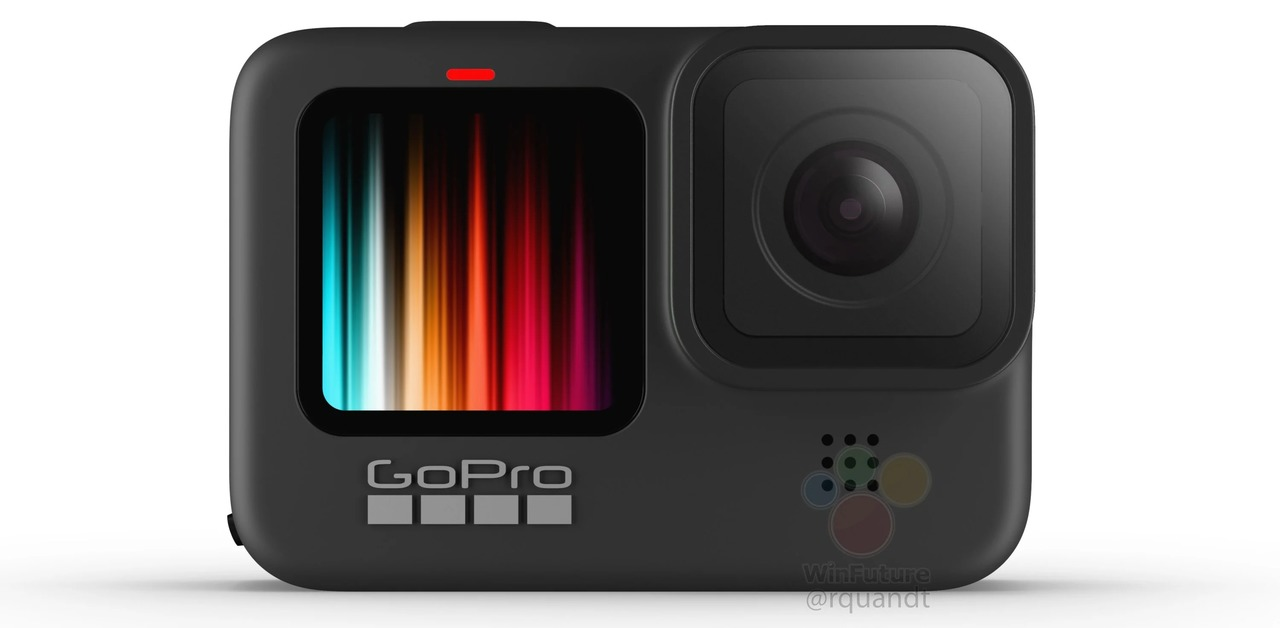 GoPro HERO9の全体画像がリーク