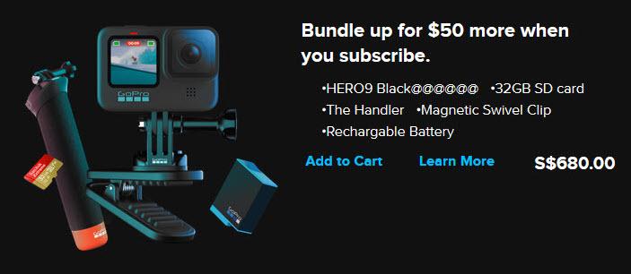 GoPro HERO9のキャンペーンバナーの画像がリーク