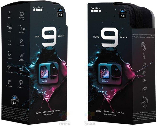 GoPro HERO9の製品パッケージがリーク
