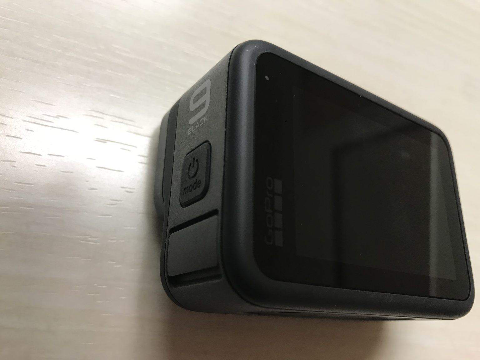 GoPro HERO9 Black レビュー:モードボタン