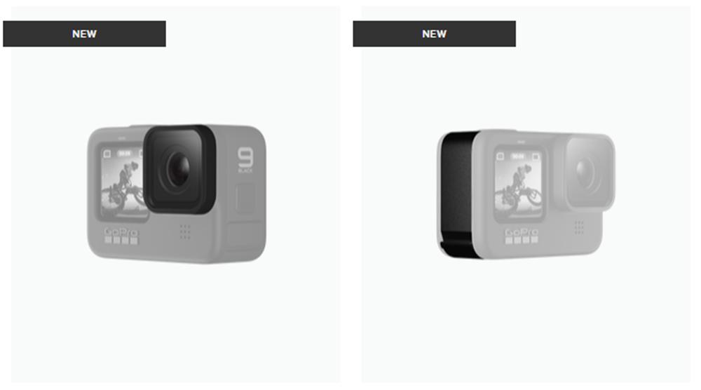 GoPro HERO9 Black用スペアパーツ