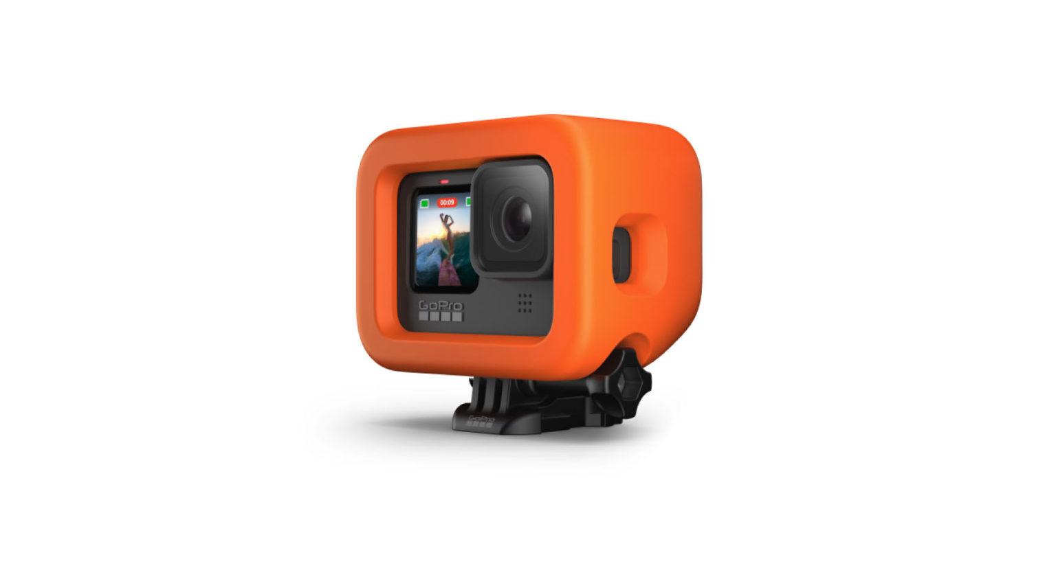 GoPro HERO9 Black用バイトマウント + フローティー4