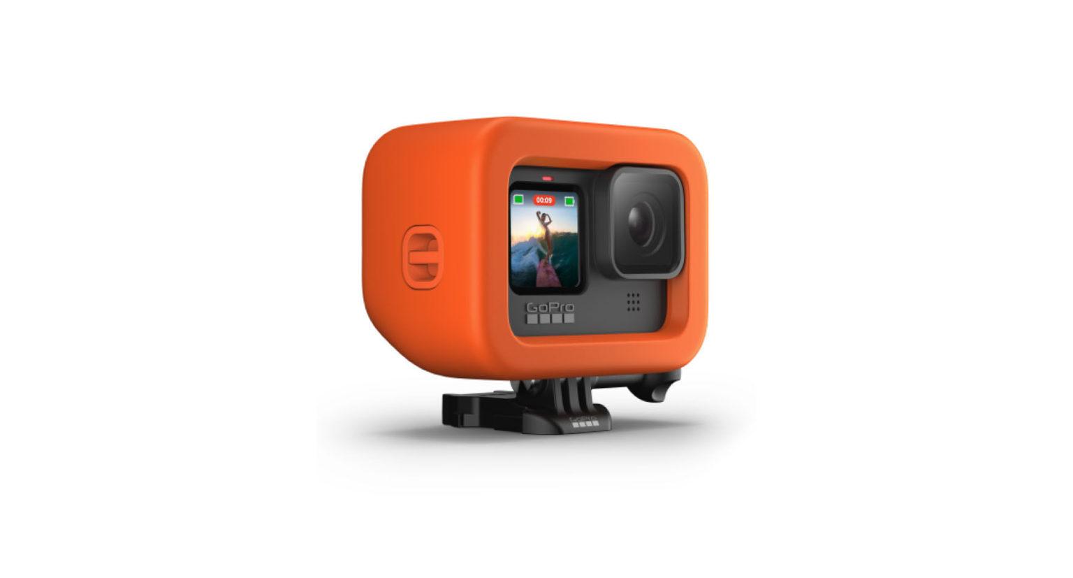 GoPro HERO9 Black用バイトマウント + フローティー5