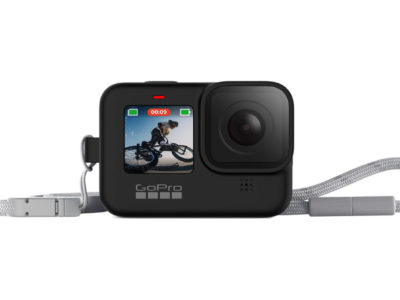 GoPro HERO9 Black用スリーブ + ランヤード1