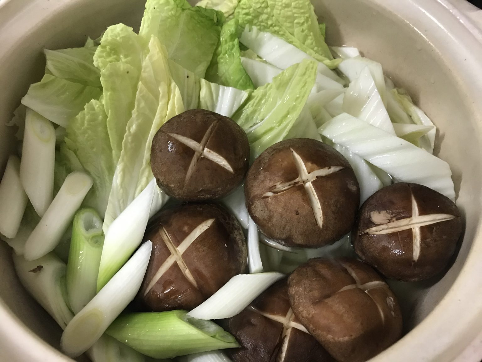 野菜を適量ぶち込む